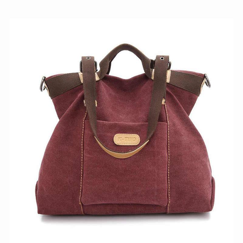 f712f57dc630 ... KVKY новая весенне-осенняя парусиновая женская сумка-мессенджер Женская  качественная сумка через плечо известного ...