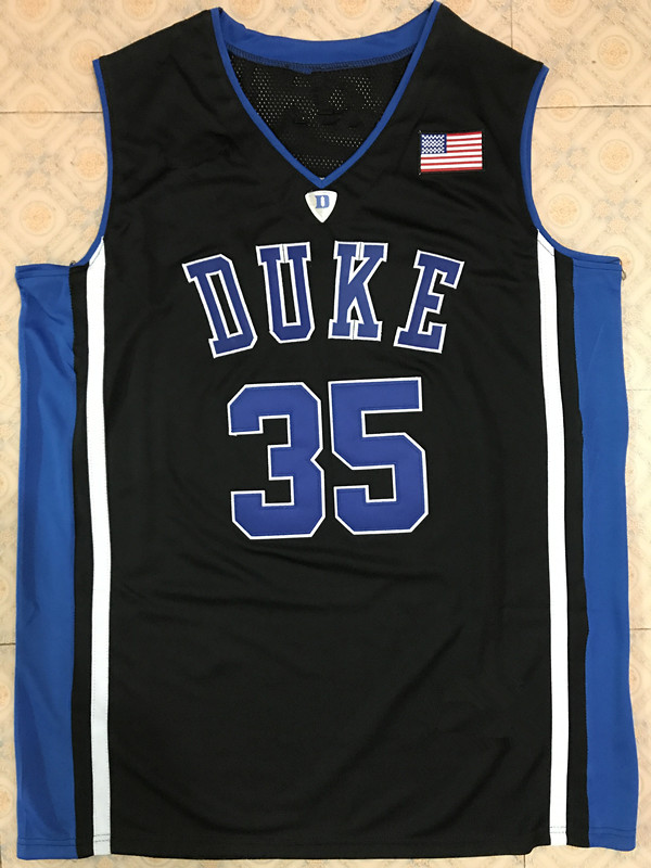 #35 Marvin Bagley III Duke Blue Devils Basketball Jersey Embroidery stitching Customize any name and number