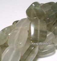 Mojito Green Rutile Quartz Gemstone Rectangle 16x12mm Loose Beads 15 5inch Full Strand 10221464 62