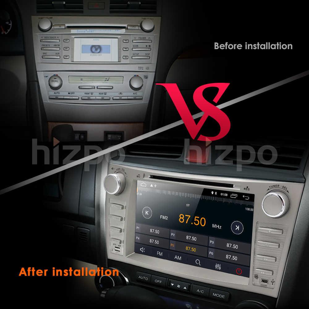 Новинка! Android 8,1 сенсорный экран 2DIN 8 дюймов автомобильная навигация GPS радио для TOYOTA Camry 2007-2011 Aurion 2006-2011 BT + wifi + DAB + камера