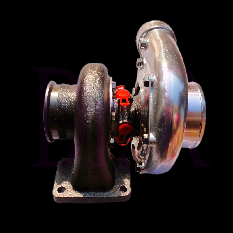 Universal T3 flange Vband turbine housing high performance ball bearing turbo with billet compressor wheel for Civic tuning use