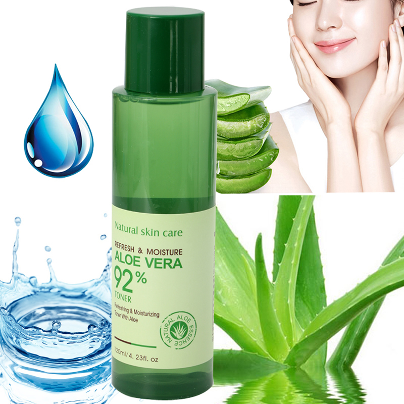 Aloe vera Gel Face Moisturizer Skin Care Hydrating Anti Wrinkle Sunscreen Cream for Oil Control Shrink Pores