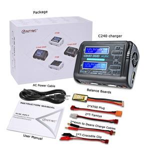 Image 5 - Htrc C240 デュオrcリポ充電器ac/150 ワットdc/240 ワットデュアルチャンネル 10Aバランス放電リポlihv生活lilonニッカドニッケル水素鉛バッテリー