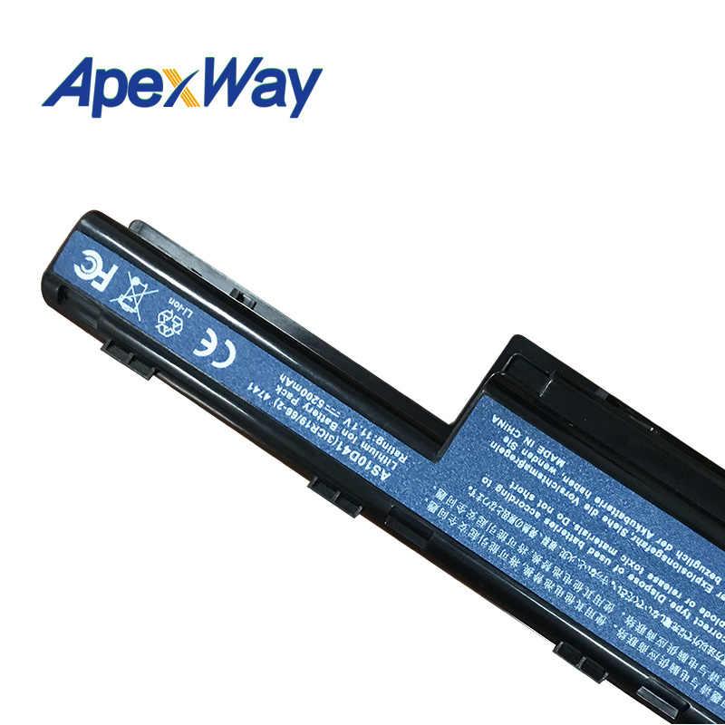 6600Mah 6 خلية البطارية لشركة أيسر eMachines D440 D528 E640 E642 E644 E650 E730 E730G E732 E732G E732Z E732ZG G640 G730 G730G