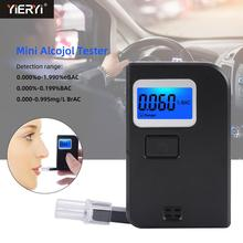 Yieryi EEK300 Mini Alcohol Tester Blowing Alcohol Tester Portable Digital Breathing High Precision Drunk Driving Test Tool