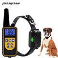 Электрический тренировочный ошейник для собак водонепроницаемый перезаряжаемый пульт дистанционного управления для домашних животных с ...