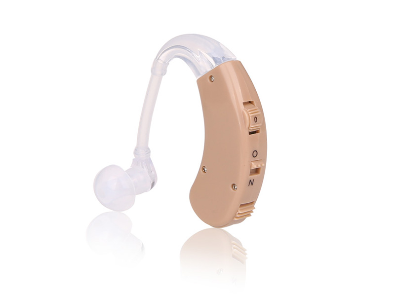 Analog BTE hearing aid sound amplifier Adjustable S-998 Digital Hearing Aid Behind Ear Deaf Sound Voice Amplifier Enhancement