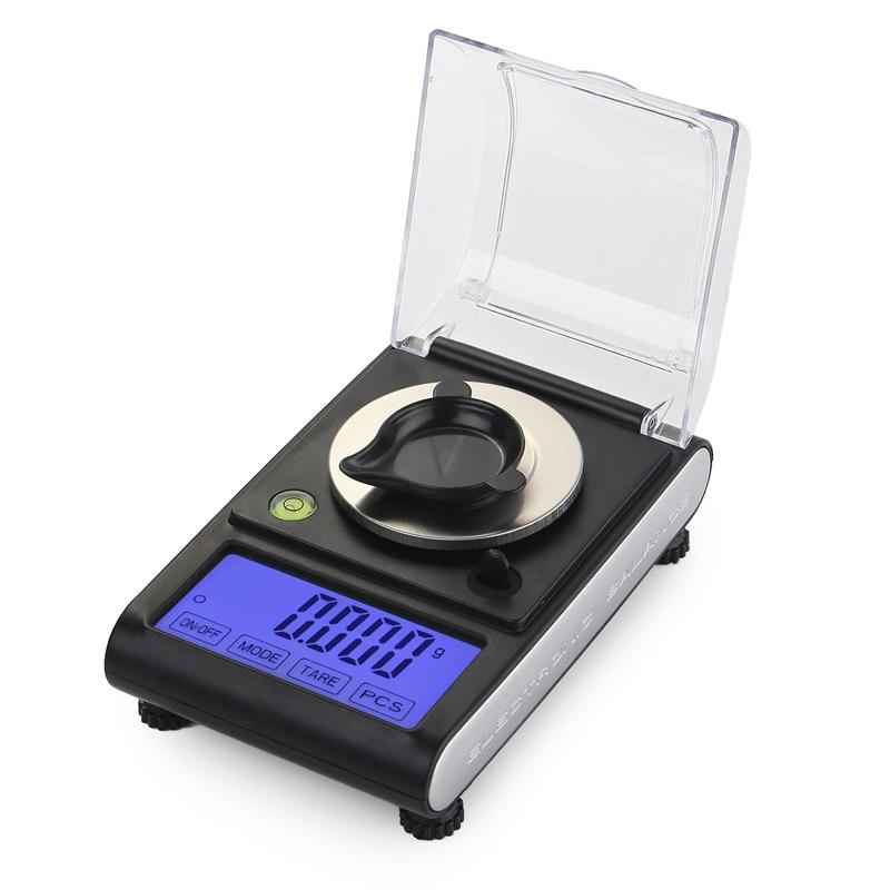 50g 0 001g Precision Touch Screen Digital Milligram Weight