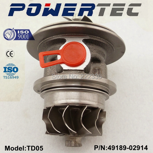 Turbocharger cartridge TD05 49189-02914 49189-02913 turbo chra 504137713 core assy for Iveco Daily 3.0 HPI
