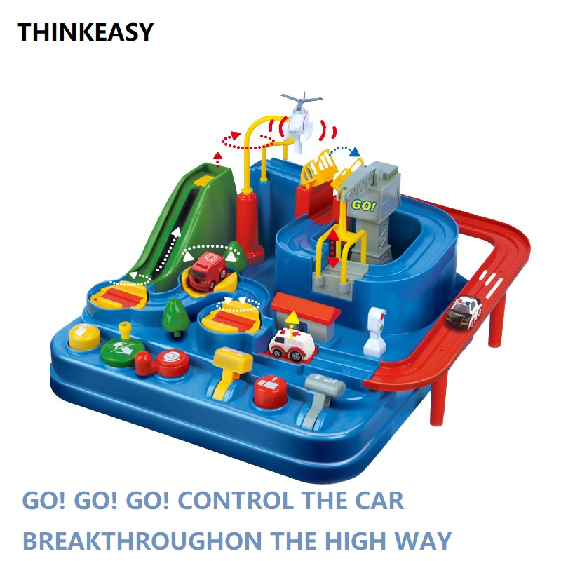 New Type Logical High way Car Toys DIY Magical Road Set Make the Car Through Assembly Model Toy Gifts