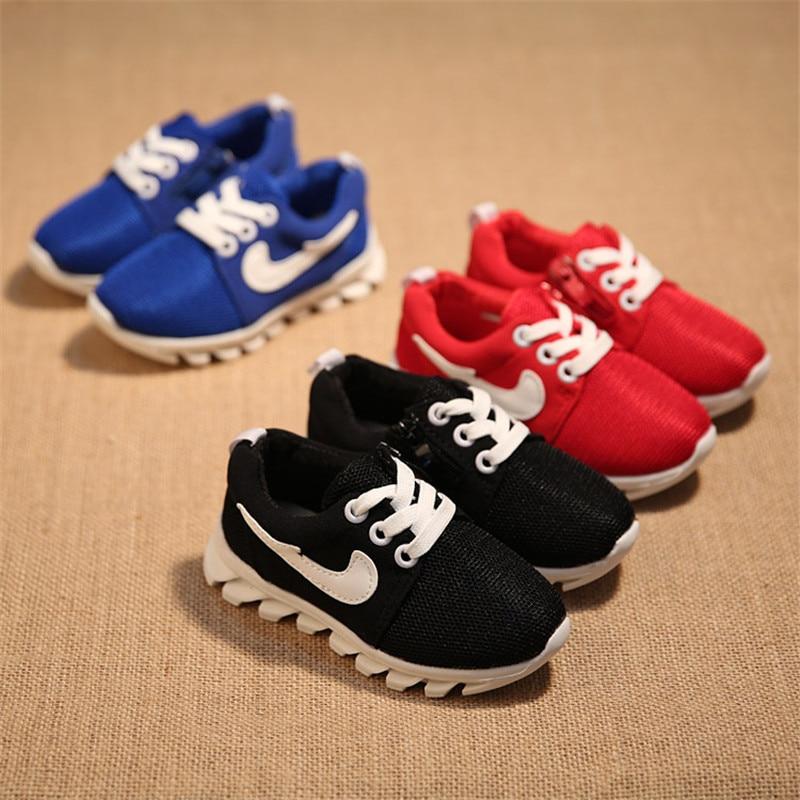 Aliexpress.com : Buy 2016 New Kids Sports Shoes Boys Girls Shoes ...