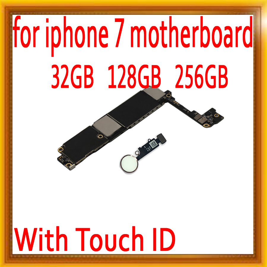 100% Original unlocked for iPhone 7 4.7inch Motherboard with Touch ID,for iphone 7 Logic boards with IOS System,Good Working100% Original unlocked for iPhone 7 4.7inch Motherboard with Touch ID,for iphone 7 Logic boards with IOS System,Good Working