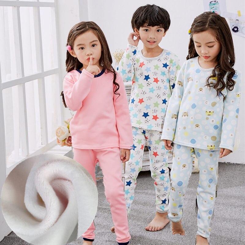 2X Unisex Children Girls Boys Kids Thermal Underwear Short Sleeve Warm Vest