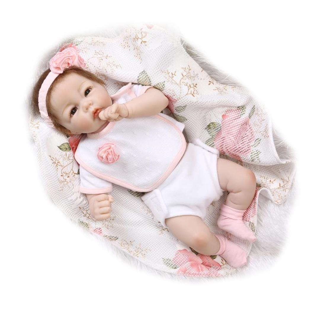 Kids Soft Silicone Realistic With Clothes Reborn Baby Opened Eyes 2-4Years Collectibles, Gift, Playmate DollKids Soft Silicone Realistic With Clothes Reborn Baby Opened Eyes 2-4Years Collectibles, Gift, Playmate Doll