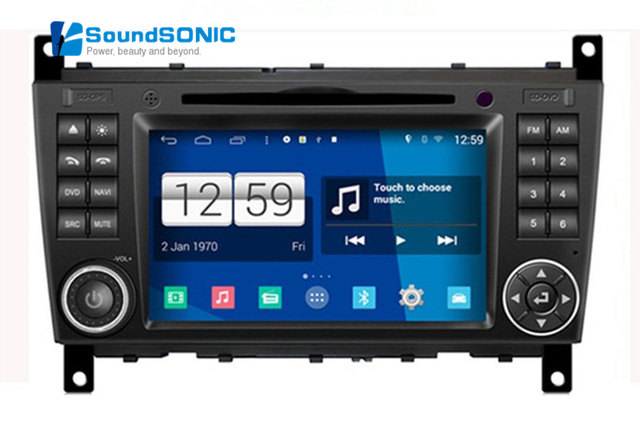 quad core android 4 4 4 autoradio gps navi for mercedes. Black Bedroom Furniture Sets. Home Design Ideas