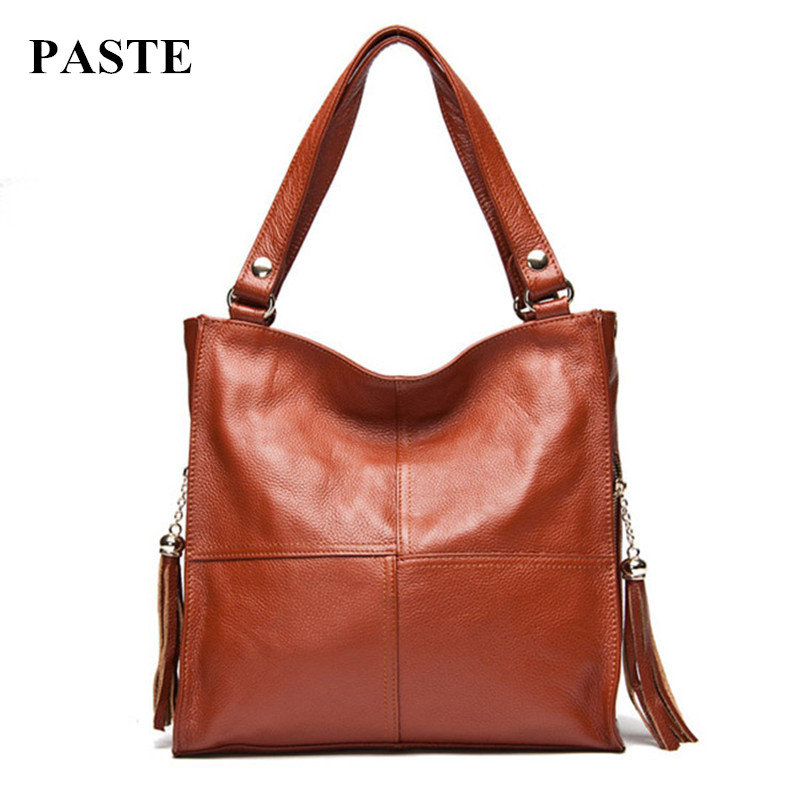 ФОТО Hot Sale 100% genuine leather women's handbag/ Summer & Autumn Cowhide shoulder bag women messenger bag Hot selling leather bags