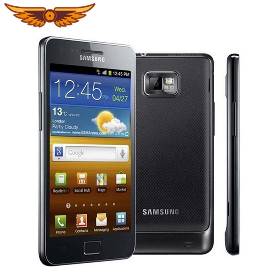 I9100 Original Unlocked Samsung Galaxy S2 I9100 GPS 16GB ROM 8MP 4.3 Inch``  Touchscreen Refurbished Smartphone Free Shipping    - AliExpress