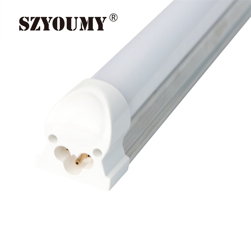SZYOUMY LED Tube T8 Integrated Tube 18W 22W SMD 2835 1200mm  85-265V Milky Cover Free Shipping White Lampada Led Tube T8 ультрафиолетовая лампа philips tl d18 08 60cm tube t8