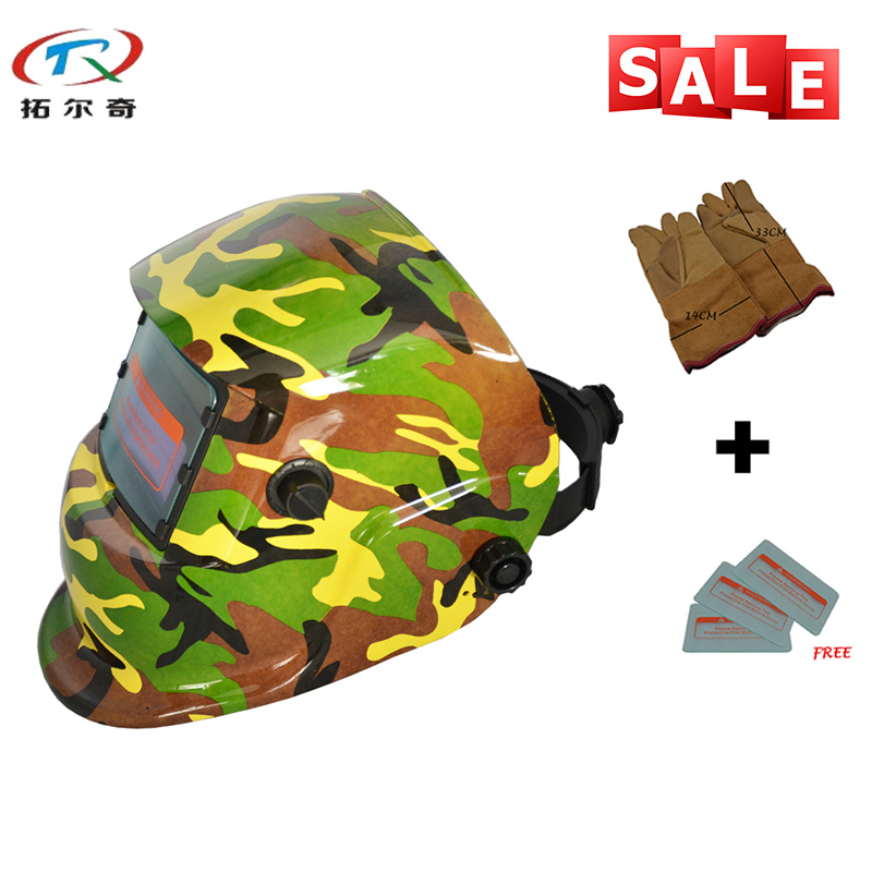 Hot Sale Army Camouflage Mask Welder Mask Mig Tig Automatic Welding