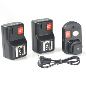 Image 1 - Andoer PT 04GY 4 Channels Wireless Remote Flash Trigger for Canon Nikon Pentax Olympus with Universal 1 Transmitter&2 Receivers