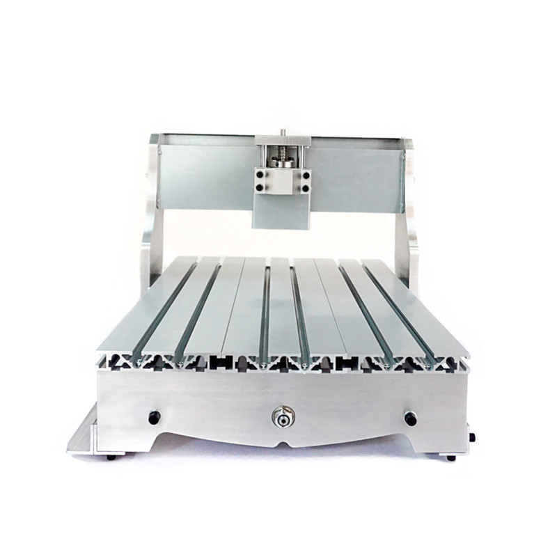 Mini CNC 3040 Lathe Frame Ball Screw Optional Engraving Cutting Machine Base Bracket For DIY CNC Router & 3D Printer diy cnc frame mini cnc router machine frame kit 3040 engraving area of 300 400mm