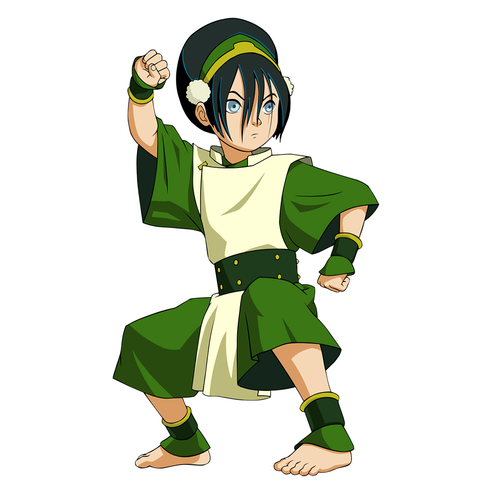 Cosplaylegend Avatar The Last Airbender Toph Beifong Cosplay Costume adult Halloween Costume full set custom made green