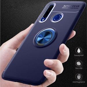Чехол с кольцом на 360 градусов для Huawei Honor 10i 10 Lite Honor 8S Y5 2019, вращающийся металлический магнитный силиконовый магнитный держатель, чехол из ТП...
