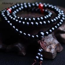 Bracelet beads Vintage Sandalwood Buddhist Buddha