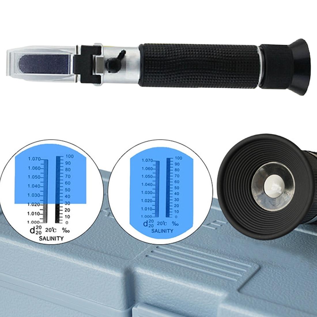 цена на 0~32% Portable Brix Refractometer Optical Sugar Food Beverages Juice Fruit ATC Content Meter Measuring Tool Test