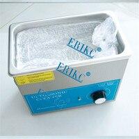 ERIKC нагреватель ультразвуковой очистки 220 В 3L стиральная машина Ультразвуковой очиститель Ванна для Common Rail Auot Топливная форсунка