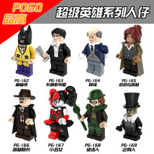 Singola Vendita Batman Bruce Wayne Enigmista Alfred Barbara Pinguino Gordon Robin Harley Quinn Building Compatibile Con Lego Movie