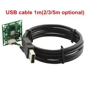Image 5 - Elp 300K Điểm Ảnh VGA USB2.0 OmniVision OV7725 Màu Cảm Biến CMOS 60fps USB Module Camera Có Góc Quay Rộng 120 Độ m7 Ống Kính