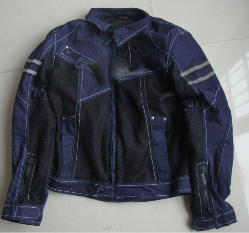 JK-006 Vintage Denim Mesh Jacket a6