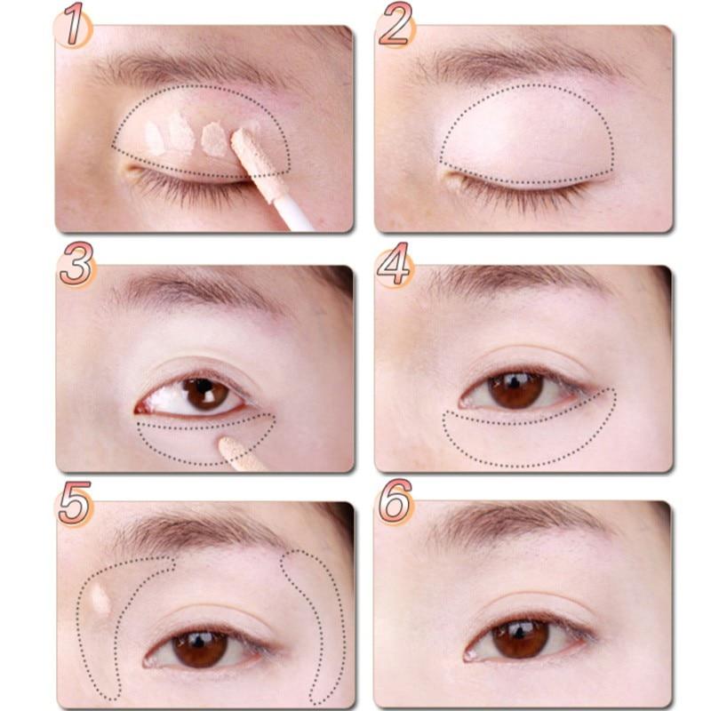 Makeup Eye Base Eyeshadow Primer Långvarig Dark-Cricle Remover - Smink - Foto 3