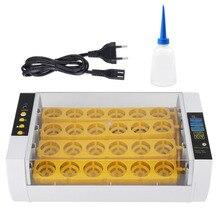 24 Eieren Incubator Temperatuurregeling Digitale Automatische Kip Kuiken Eend Hatcher Tool