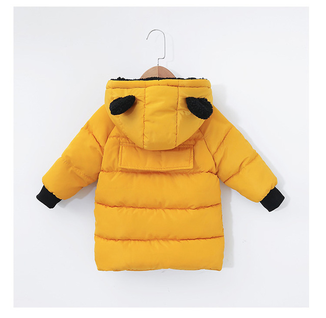 734b6c3961e1 Baby Winter Warm Coats Kids Boy Girl Thick Hooded Jacket Cotton Parka Child  Padded Thermal Snowsuit