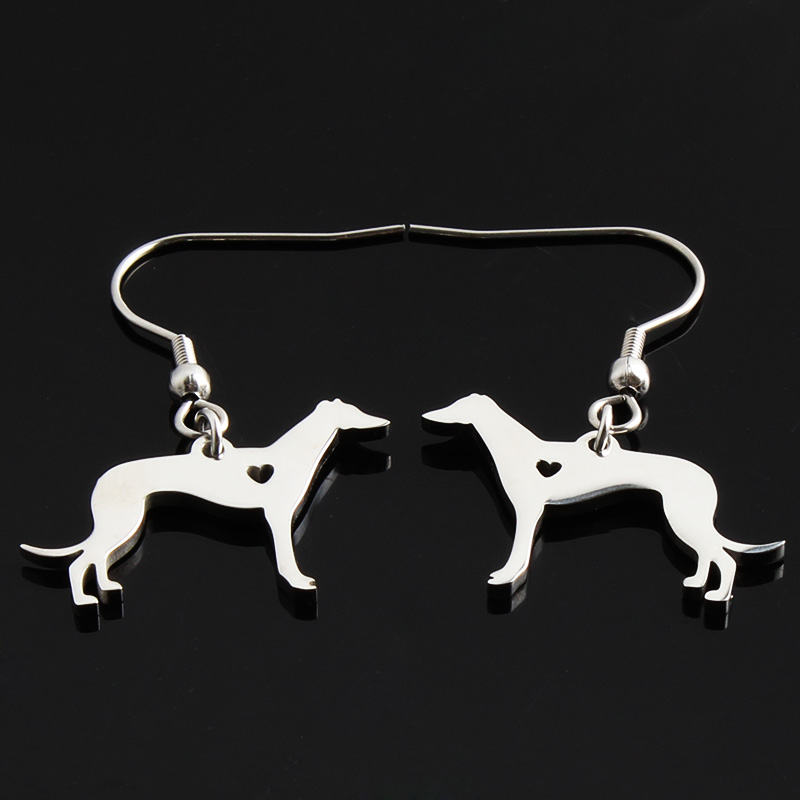 Greyhound Earrings for Women