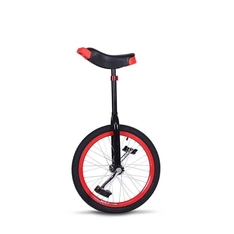 Vélo Vtt vtt 20 pouces Seule roue Vélo en aluminium roue brouette Sport monocycle Roue Épaule Seule Roue
