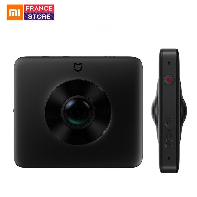 Xiao mi mi mi mi jia Panora c Câmera Esfera 360 Esportes Câmera Cam Ambarella A12 23.88MP Câmera 3.5 K gravação de vídeo Wi-fi Bluetooth