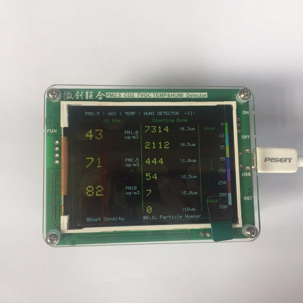 LCD Laser United monitoraggio