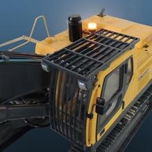 Пульт дистанционного управления гидравлический экскаватор модель обновления части кабины защитная сетка с чашка с прожектором наборы для 1/12 rc экскаватор игрушки