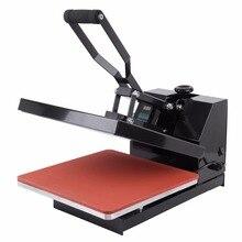 """(AB itibaren gemi) 15 """"x 15"""" Dijital Isı Basın Transferi Makinesi Kapaklı Tişört Sublime Makinesi"""