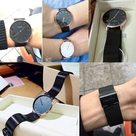 Bestdon Couple Watches Pair Men And Women Watches Minimalist Unisex Fashion 2019 Luxury Brand Quartz Watch Waterproof Relogio Multan