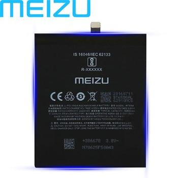Meizu 100% Original 3060mAh BT65M Battery For Meizu MX6 Mobile Phone Latest Production High Quality Battery With Tracking Number 2pcs new original 2000mah li ion battery for gnd nbl 45a2000 high quality battery tracking number