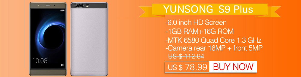 YUNSONG A7 Plus Mobile Phone 5 5 inch 13 0MP camera