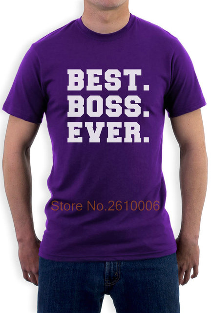 Best BOSS Ever – Christmas Gift Idea for Your Boss T-Shirt From Workers Custom Made Good Quality T Shirt