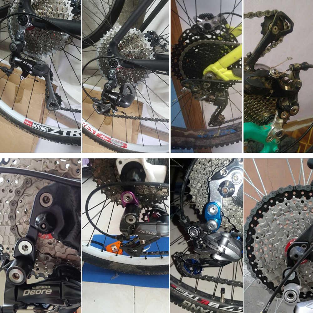 Tail Hook MTB Road Bike Rear Derailleur Hanger Extender Cycling Frame Gear YF