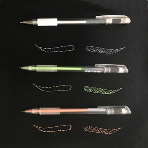 Image 5 - 1pc Microblading Supplies Tattoo Marker Pen Permanent Makeup Accessories White Surgical Skin Marker Pen for Eyebrow Scribe Tools