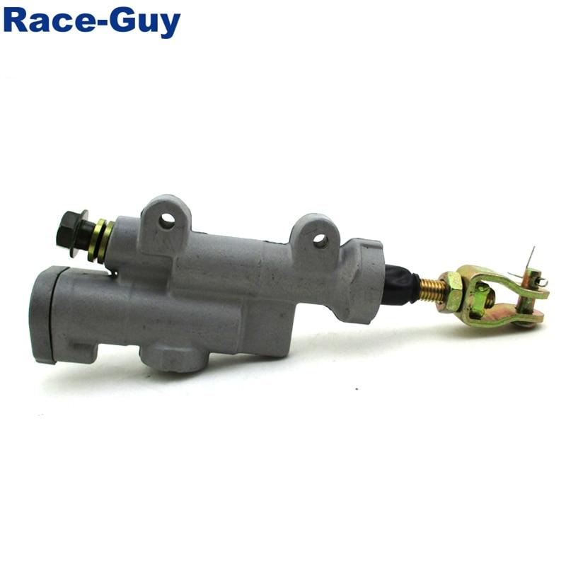 Race-Guy Rear Brake Master Cylinder for Honda 43500-KZ4-J42 43500-KZ4-J43 CR125R CR250R CRF250R CRF250X CRF450R CRF450X 43500-MEN-305