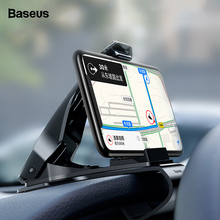 Baseus Dashboard Car Phone Holder For iPhone Xs Max X 8 Samsung S9 S8 Mount in Mobile Stand